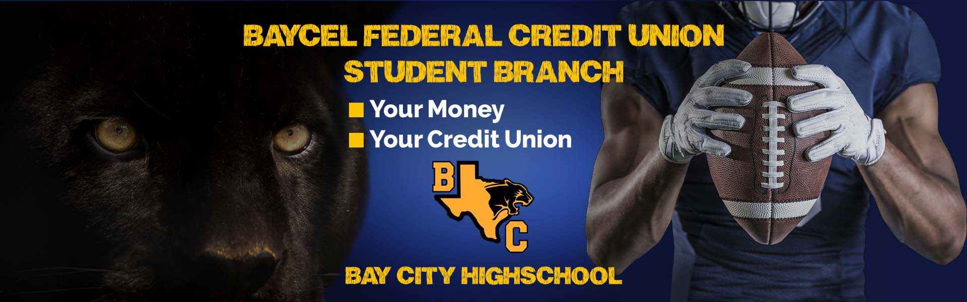 Promotion for new Bay City Highschool branch Banner